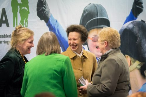 Princess Anne awarded for 30 years as RDA President