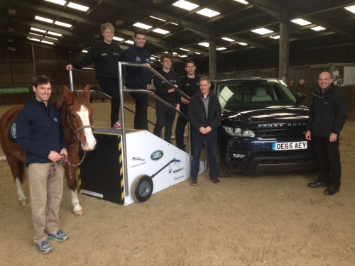 Land Rover and Harry Meade help out in Hampshire