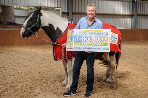 RDA to receive £300,000 in support from players of People's Postcode Lottery
