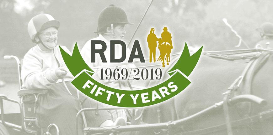 RDA 50th banner