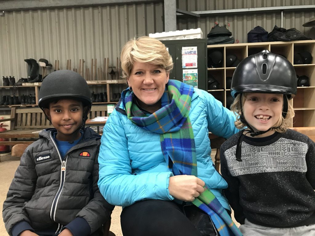 Clare Balding visit to South Bucks RDA